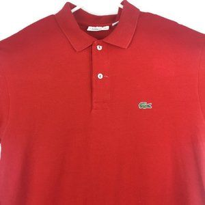 Lacoste Polo Shirt Short Sleeve Mens Classic Fit 5